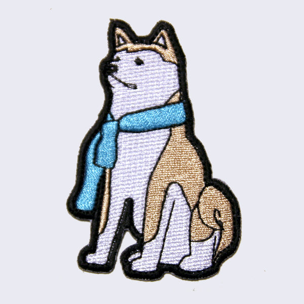 Giant Robot - Hachi Dog Embroidered Patch