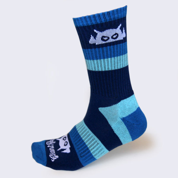 Giant Robot - Big Boss Robot Socks (Blue & White)