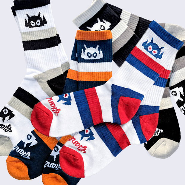 Giant Robot - Big Boss Robot Socks (assorted colors)