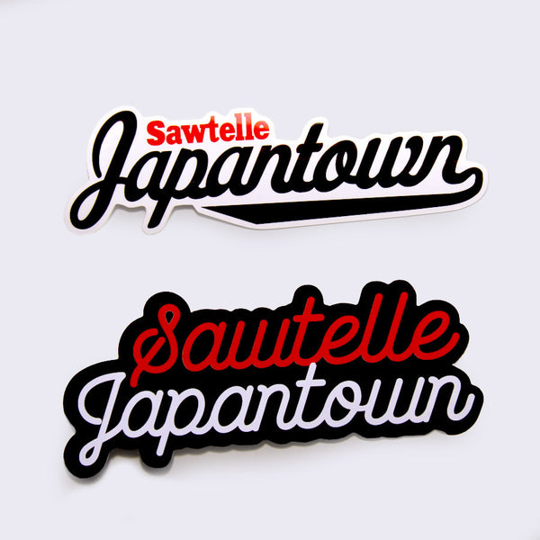 Giant Robot - Sawtelle Japantown Sticker