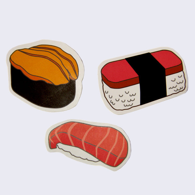 Giant Robot - Sushi Stickers