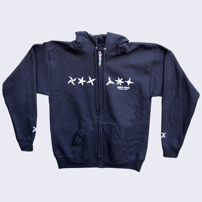 Giant Robot - Throwing Stars Hoody (Black)