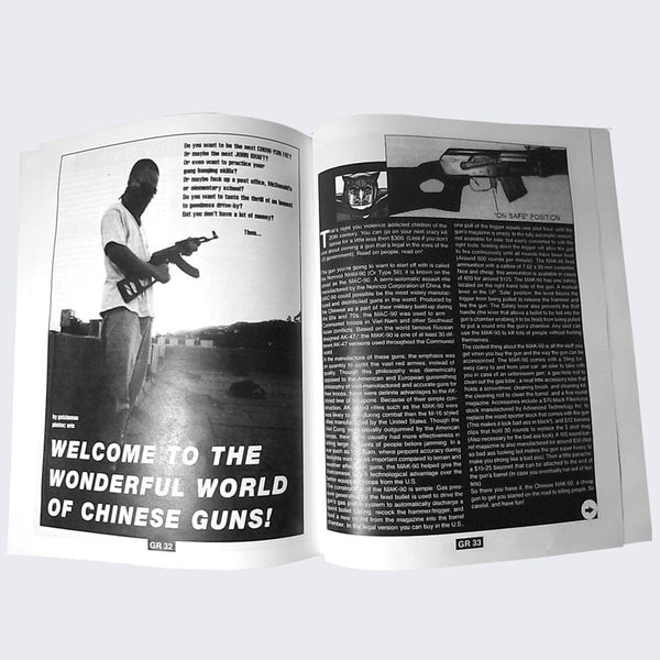 Giant Robot - Issue 3 Zine (Re-print)