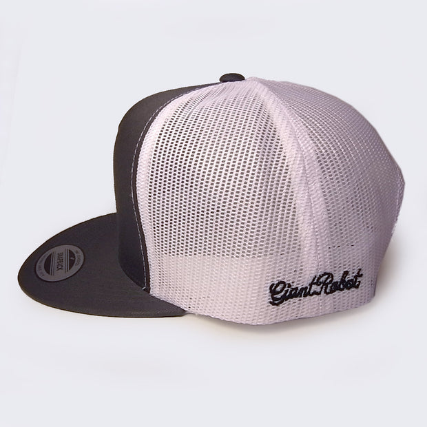 Giant Robot - Big Boss Robot Mesh Hat (Gray & White)