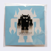Giant Robot - Big Boss Robot Enamel Pin (Gunmetal)