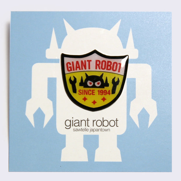 Giant Robot - Shield Logo Enamel Pin