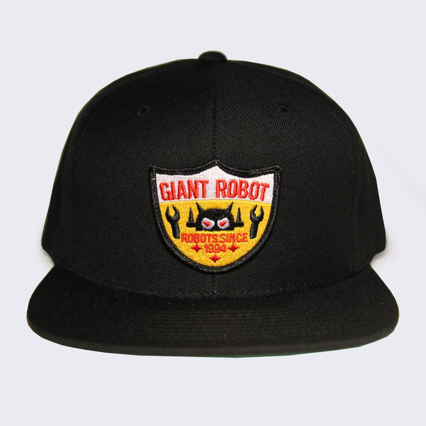 Giant Robot - Big Boss Robot Shield Hat (Black)
