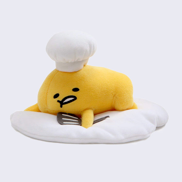 Gudetama Chef Plush