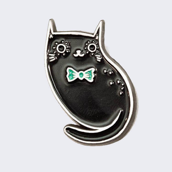 Boygirlparty (Susie Ghahremani) - Black Cat Enamel Pin