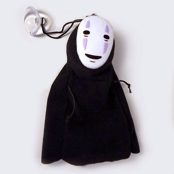 "Spirited Away No Face Kaonashi 6"" Plush (with Suction Cup)"