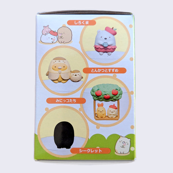 Sumikkogurashi Glass-Edge Figure