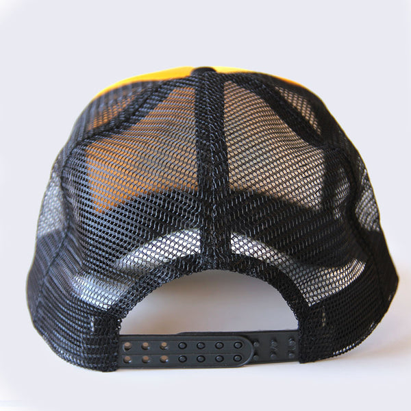 Giant Robot - Mesh Hat (Black & Gold)