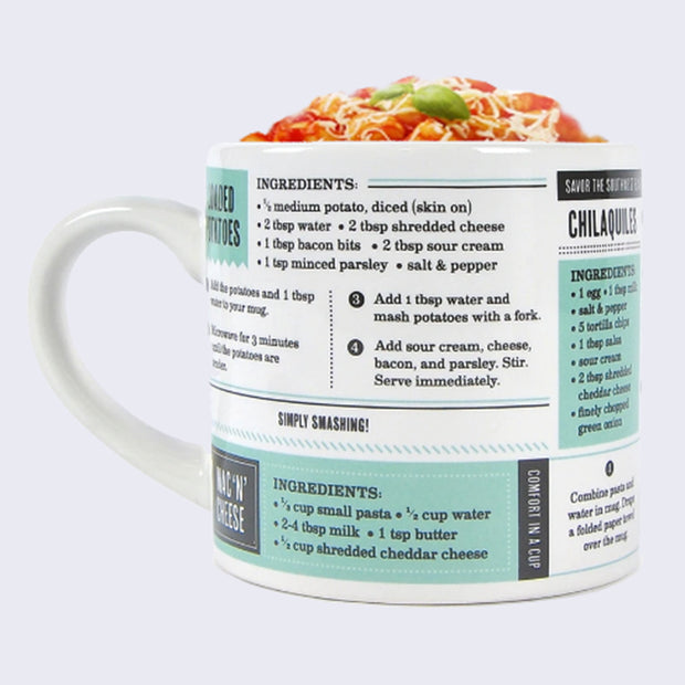 Grub Mugs - Sweet and Salty Recipes