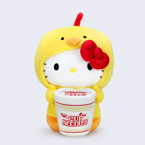 "Hello Kitty x Nissin Cup Noodles 16"" Plush (Chicken)"