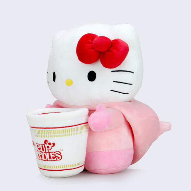 "Hello Kitty x Nissin Cup Noodles 16"" Plush (Pork)"