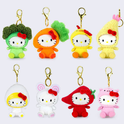 Hello Sanrio x Nissin Cup Noodles - Plush Charms
