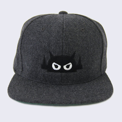 Giant Robot - Big Boss Robot Hat (Dark Gray Melton Wool)