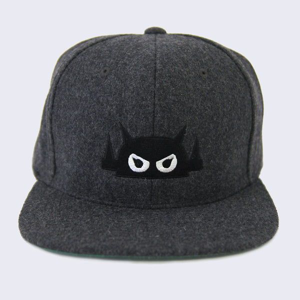 Giant Robot - Big Boss Robot Hat (Dark Gray Wool)