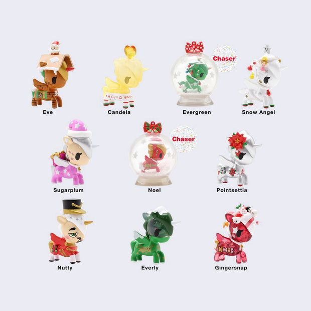 Tokidoki - Holiday Unicorno Blind Box (Series 2)