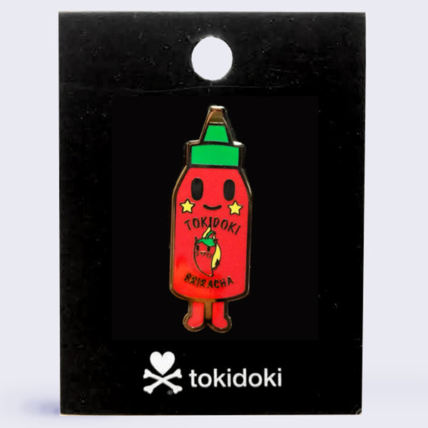 Tokidoki - Hotty Hotsauce Enamel Pin