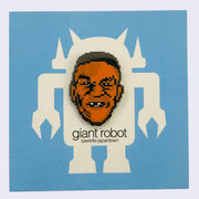 Giant Robot - 8 Bit NES Hero Boxer Enamel or Lapel Pin