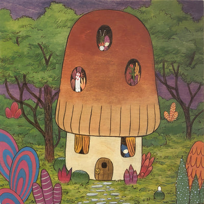 The Reality of Illusions - Jen Tong - Mushroom House - #5 SOLD