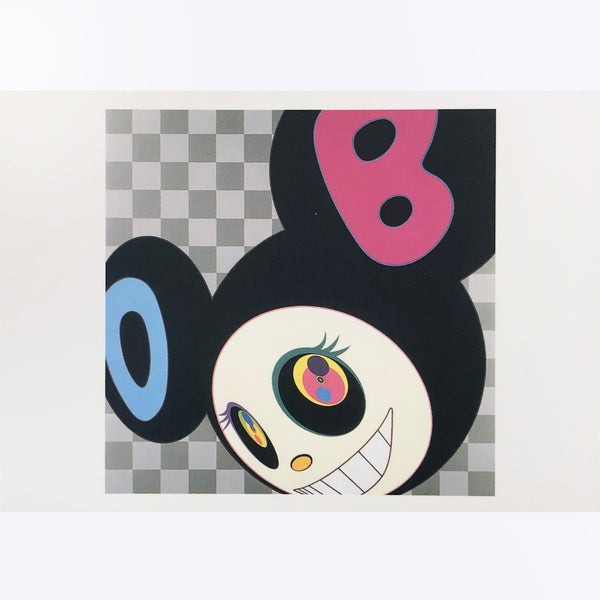 "Takashi Murakami - ""And Then Black postcard"