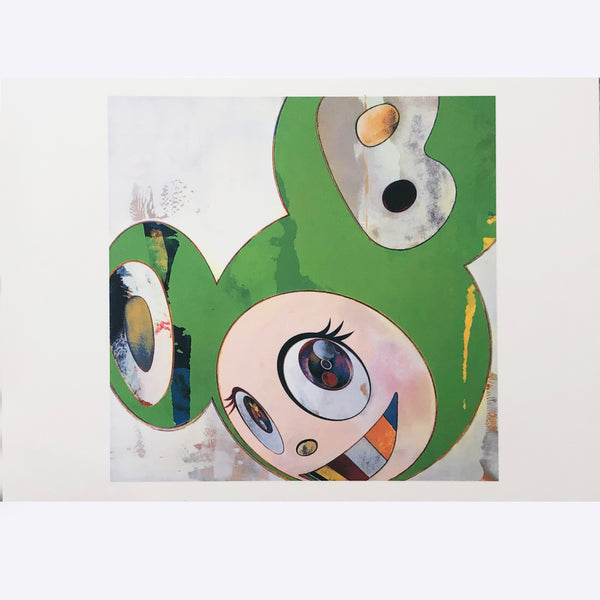 "Takashi Murakami - ""And then, and then and then and then and then Kappa"" Postcard"