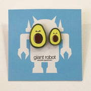 Giant Robot - Avocado Duo - Cute Two Pin Set