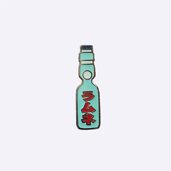 Giant Robot - Ramune Japanese Softdrink Enamel Pin Asian Popular Culture