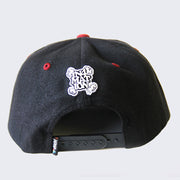 In4mation - In4ma + tion Hat (Black, Burgundy & White)