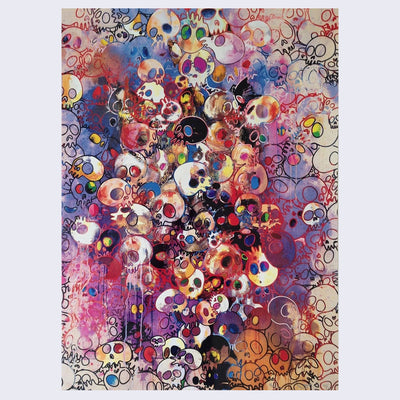 Takashi Murakami - I've Left My Love Far Behind. Their Smell, Every Momento, 2010