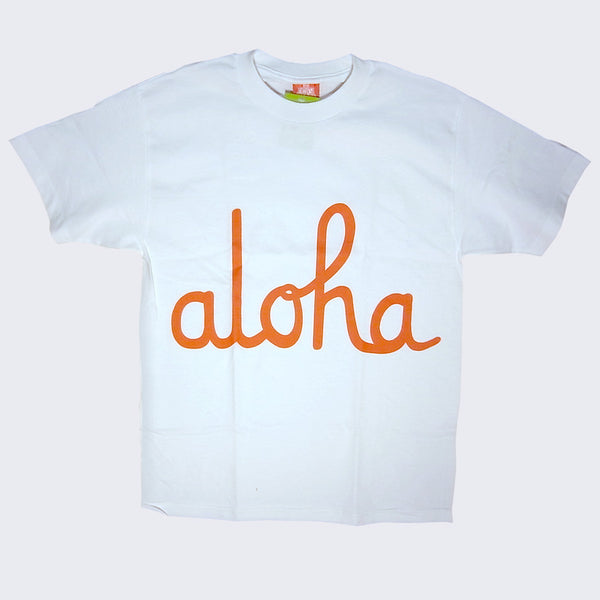 In4mation - Aloha T-shirt (White & Red)