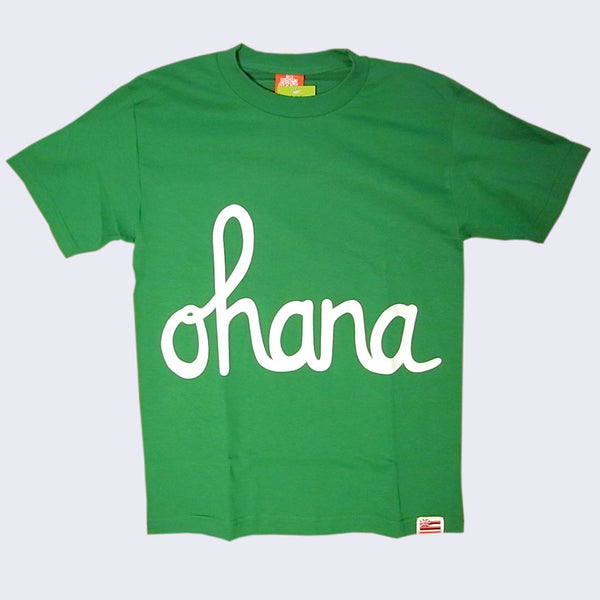 In4mation - Ohana T-shirt (Green & White)