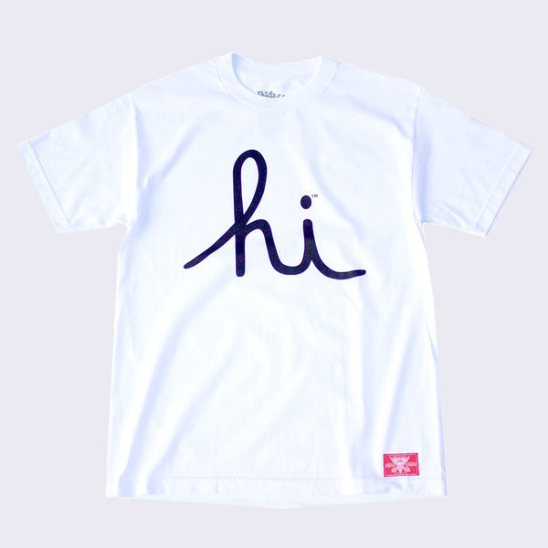 In4mation - Hi T-shirt (White / Black)