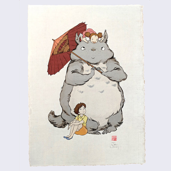 Jed Henry - Totoro Giclee Print