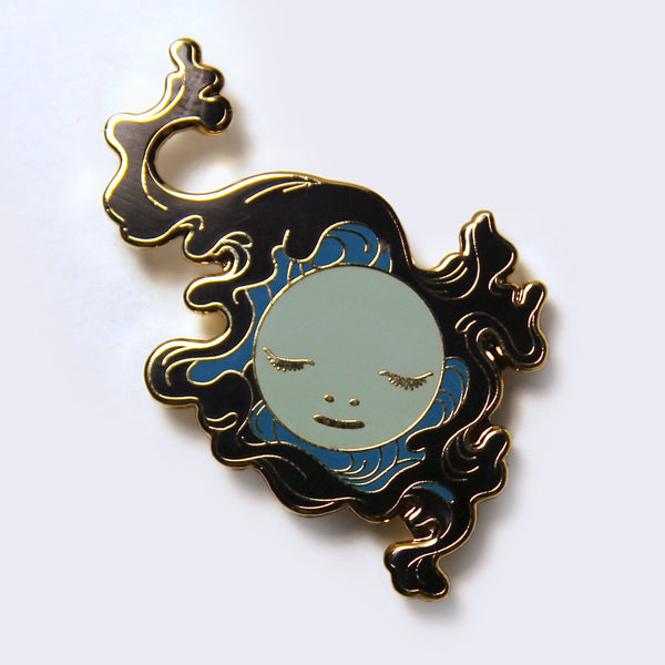"James Jean - ""Eddy"" Wave Enamel Pin"