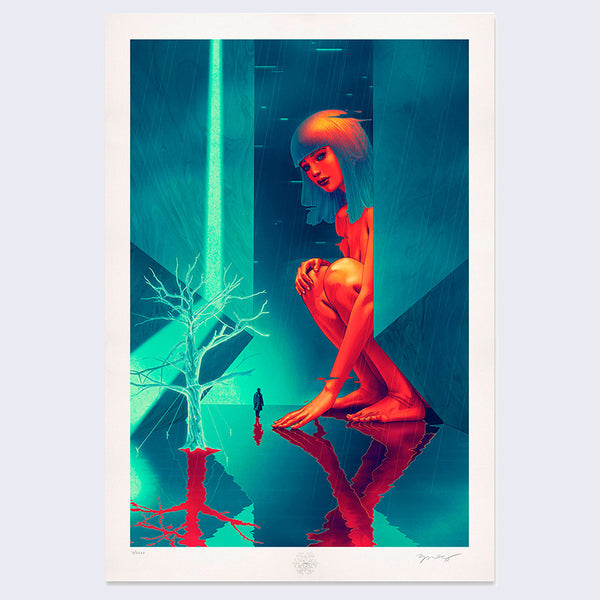 James Jean - Retroflect Blade Runner Print