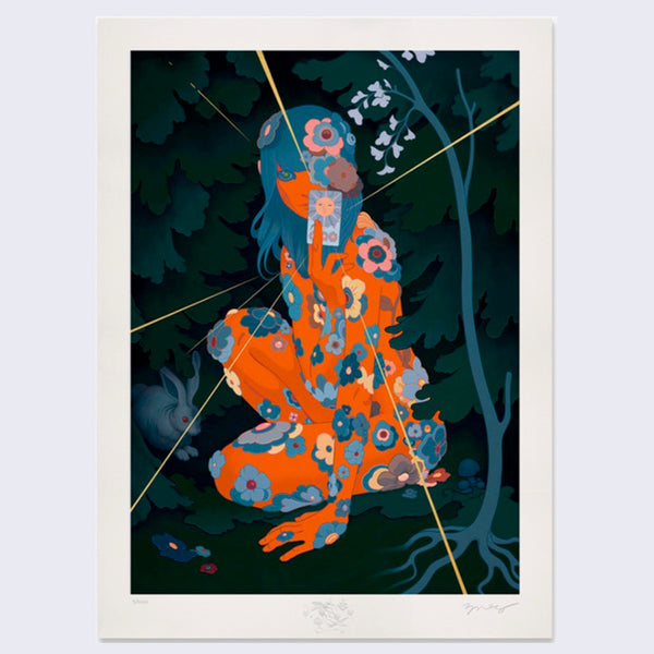 James Jean - Sun Tarot Print