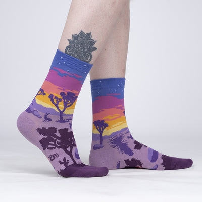 Joshua Tree National Park Socks (Crew - Women's)
