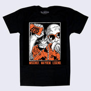 Tee No Evil - Kame Club T-shirt (Black)