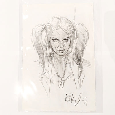 SuperAni Exhibition - Karl Kopinski - Drawing C