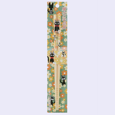 Kiki's Delivery Service Bamboo Chopsticks - Flowers