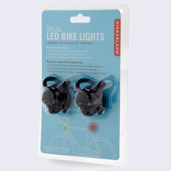 Skull LED Bike Lights (Set of 2)