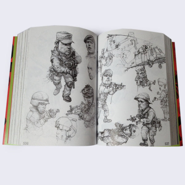 Kim Jung Gi - 2007 Sketchbook