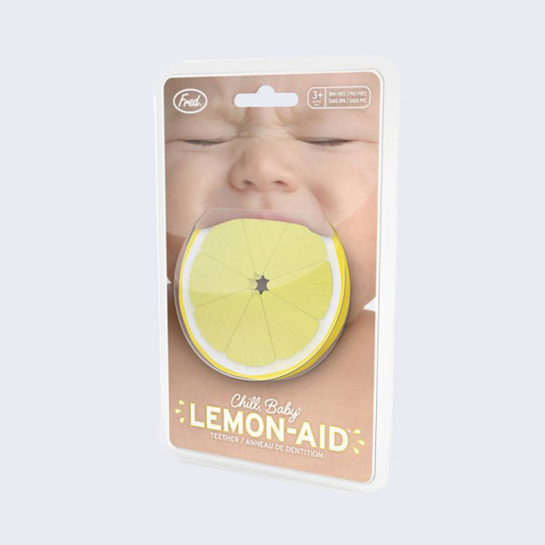Chill, Lemon-aid Baby Teether