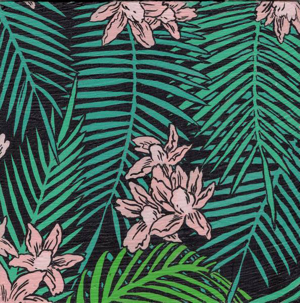 Deth P Sun - Palm Tree Leafs Black - #55
