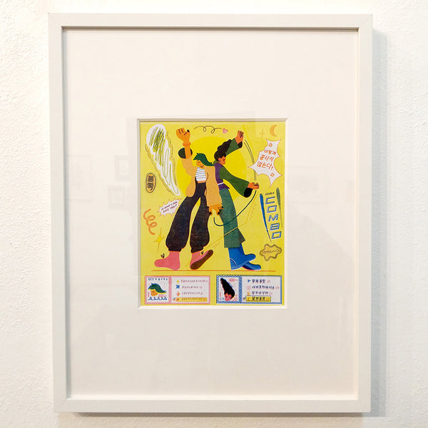 Lina Yu - Final Attack - #38 (Riso Print - framed/unframed)