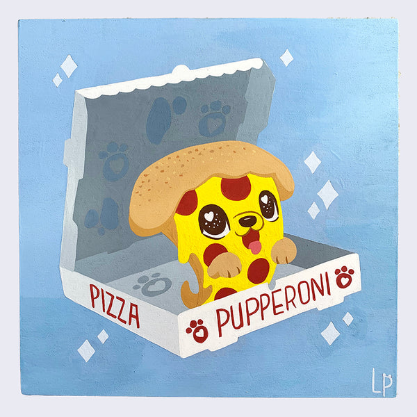 Let's Eat - Linda Panda - Pupperoni Pizza