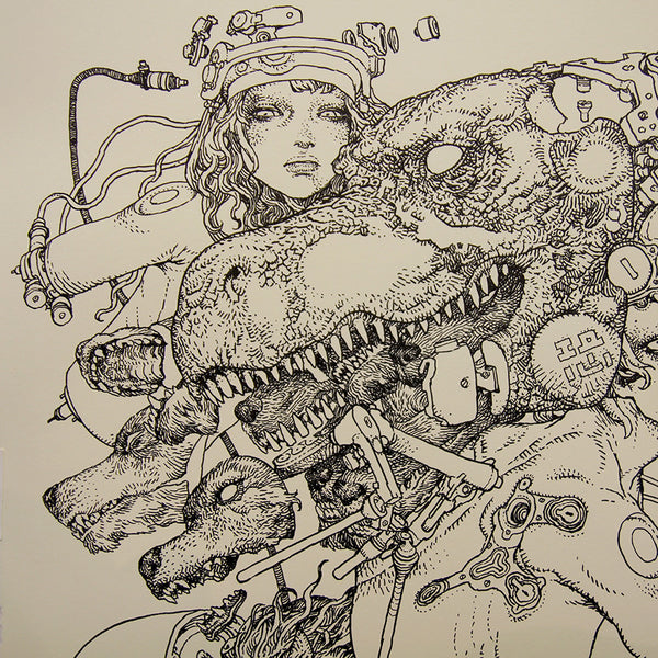 Katsuya Terada - Untitled Live Drawing - #4